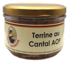 Terrine au Cantal AOP 180g