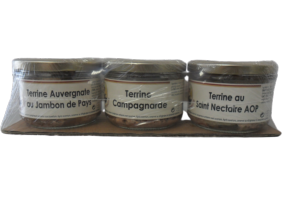 Lot de 3 Terrines Mère Lavergne