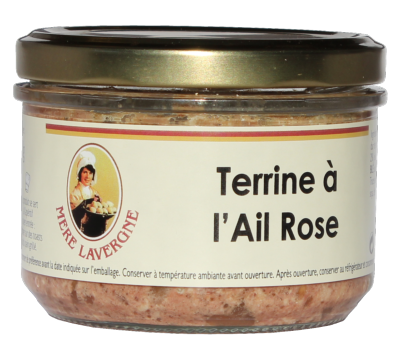 Terrine à l'Ail Rose 180g